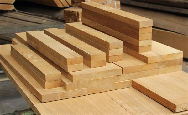 缅甸柚木板材_泰柚板材